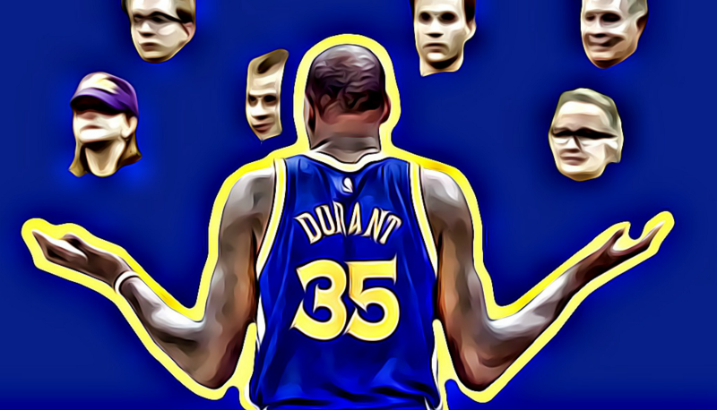Kevin Durant Disrespected Everyone In Utah During Golden State's Game 3 Win