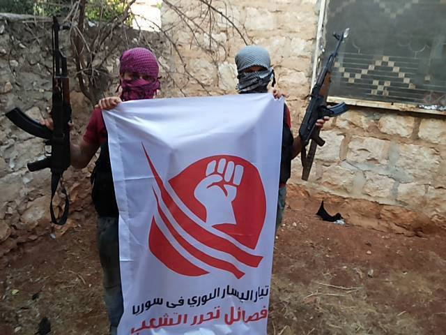 Leftist Syrian Opposition group Faction to Liberate the People in Hama 2012
