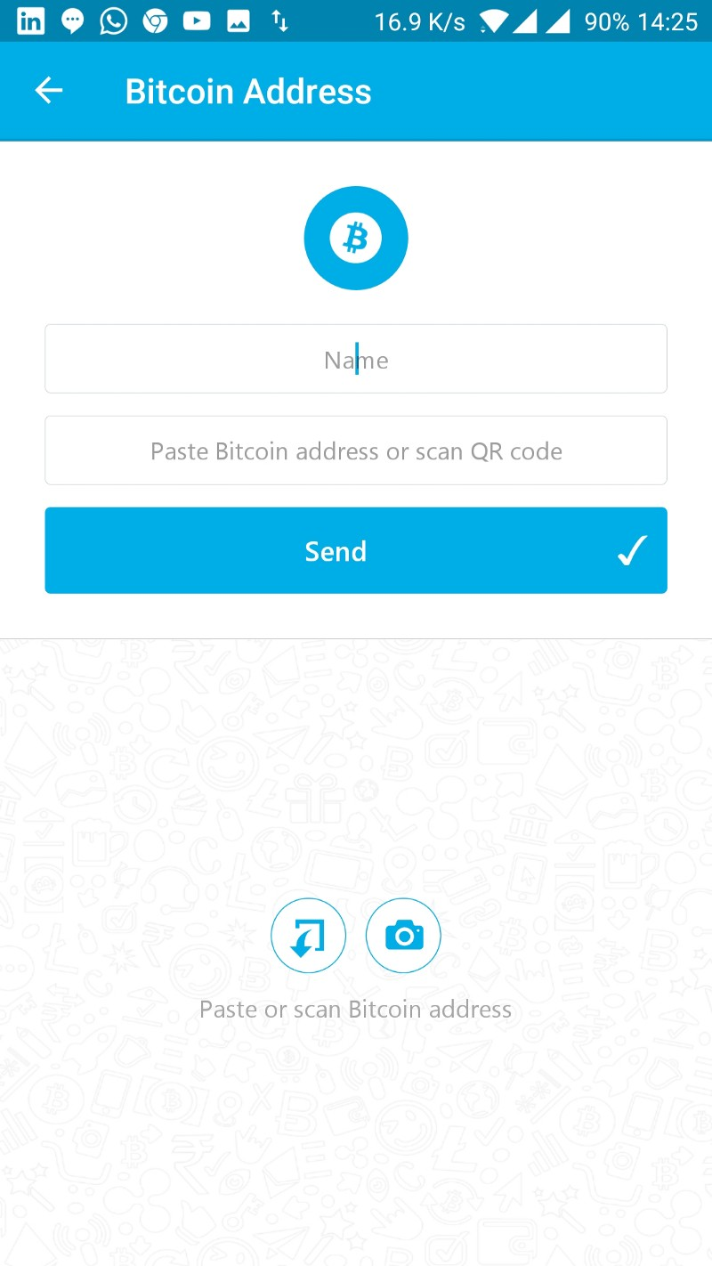 How to transfer btc to nuo wallet nuo news medium step 4 open your zebpay or any other exchange wallet app and select the option to send btc ccuart Images