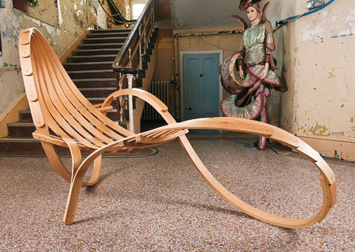 Unconventional Wooden Furniture Medium