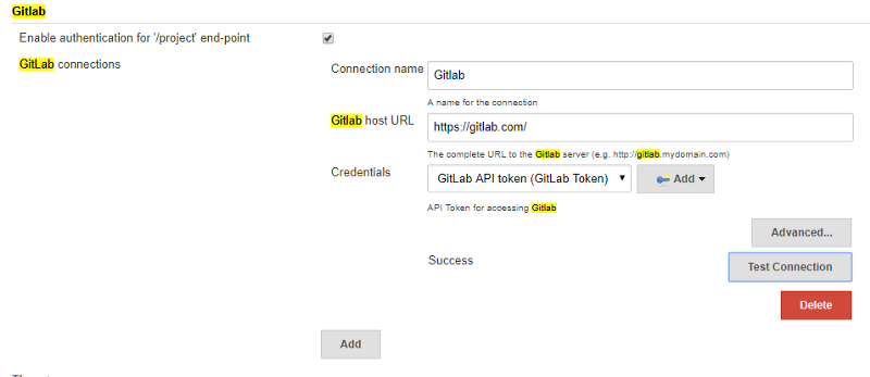 Integrate Jenkins with Gitlab -