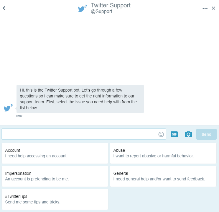 how to send a direct message on twitter
