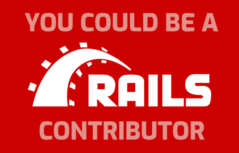 Contributing to Ruby on Rails is not hard. Here's how you can suggest a new feature.