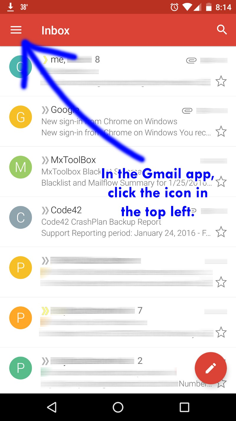 gmail fix