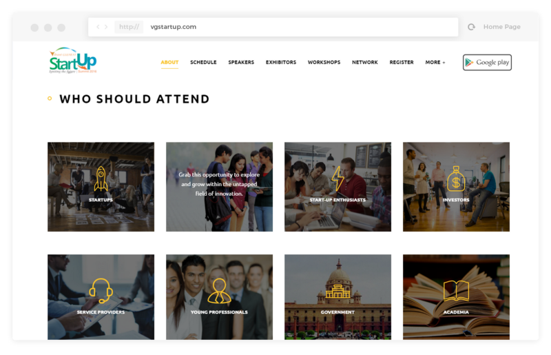 event website, Top must-haves in an event website!