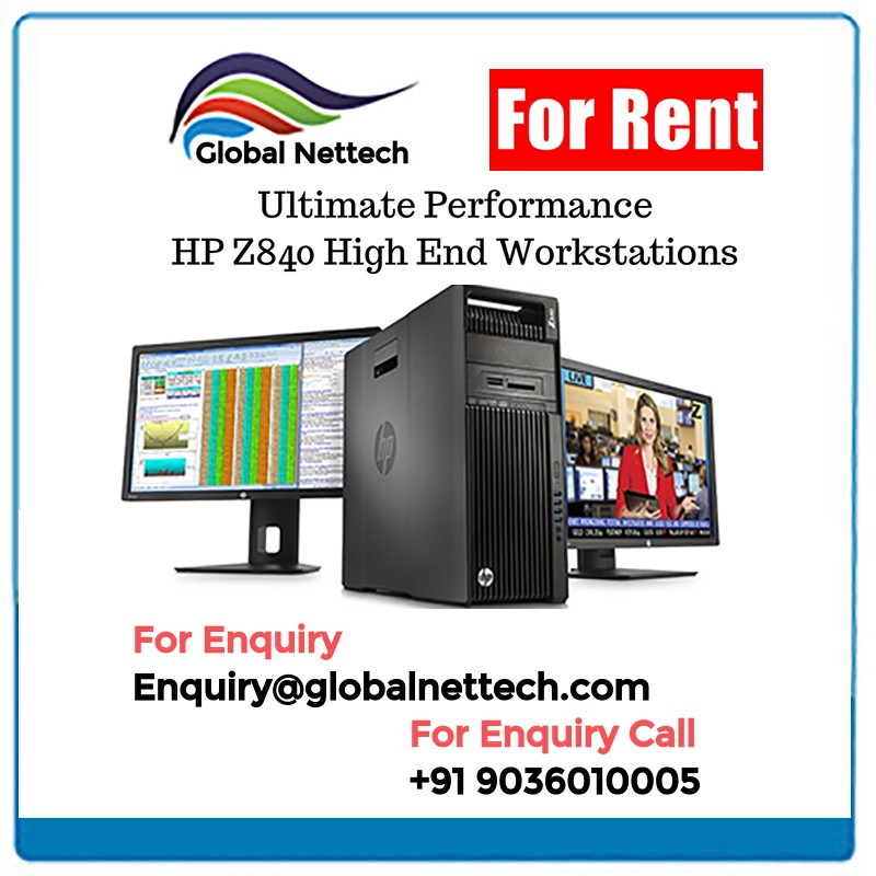 Graphics Workstation Rent | HP Z840 HP Z820 HP Z800 Workstation