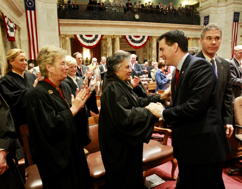 Wisconsin Supreme Court rejects recusal petition over campaign donations