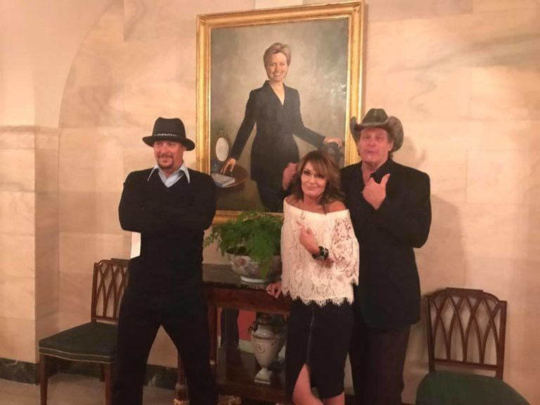 Band Of Hillbillies Gains Access To White House — President Safe But Nation In Peril