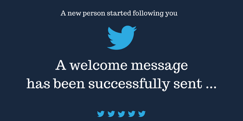 How to create your own auto direct message Twitter bot for