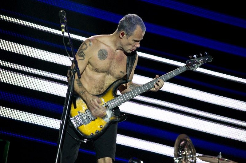 Flea from Red Hot Chili Peppers.