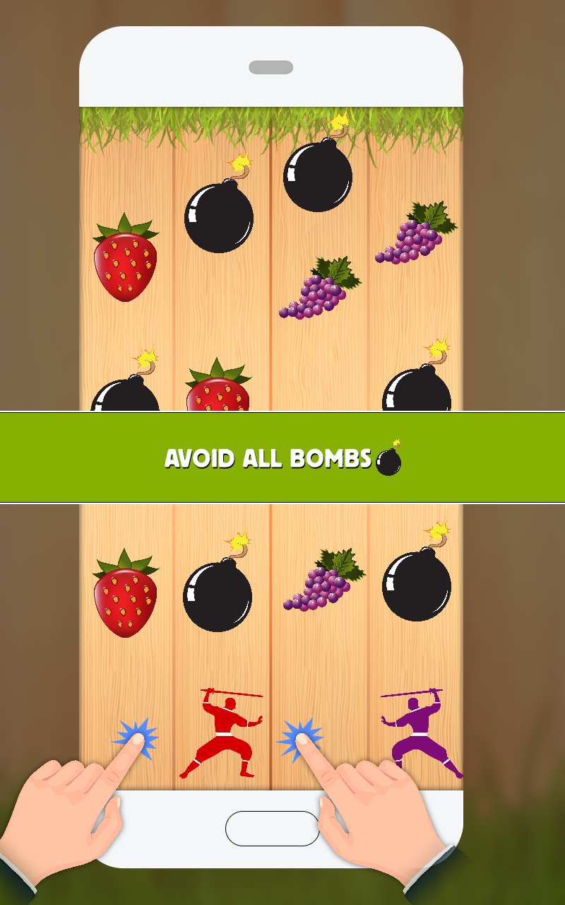 Ninja fruit cut game - Cut Of All The Ninja Fruits Without Touch The Chopper Dropping Them Out Of The Screen Make Best Score Tell Your Family Members Or Friends To Make