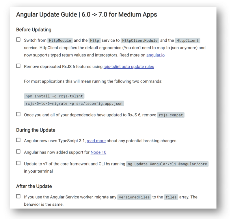 How To Update Visual Studio 2019 Asp.Net Core Angular Project