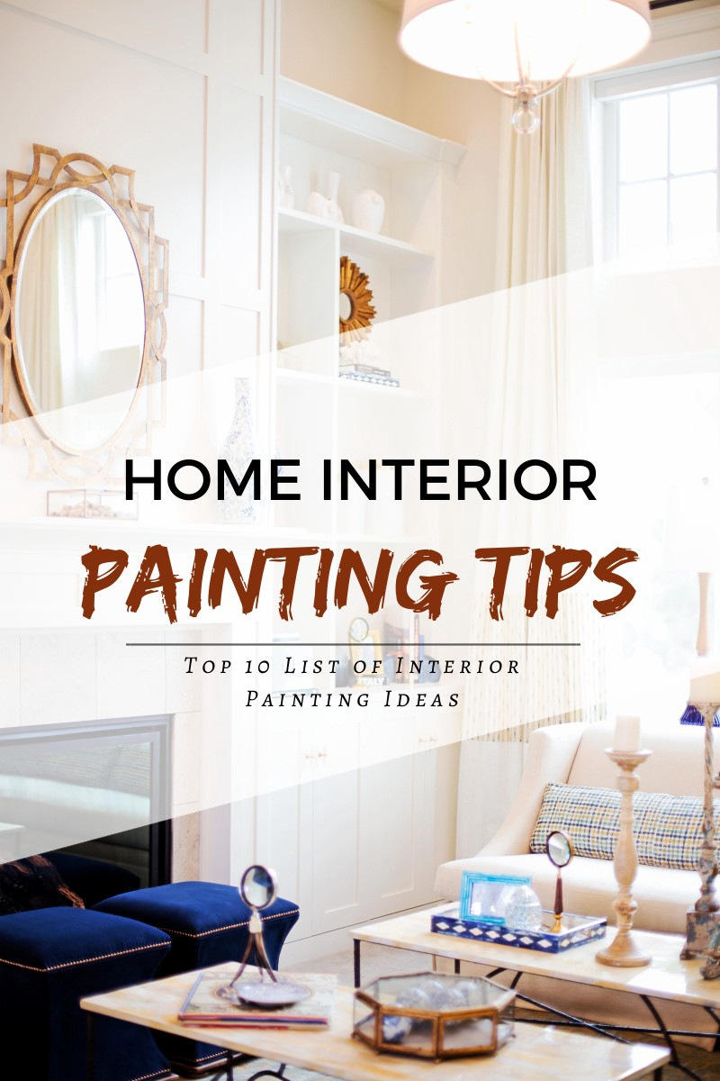 Home Interior Painting Tips to Make Your House More Lively