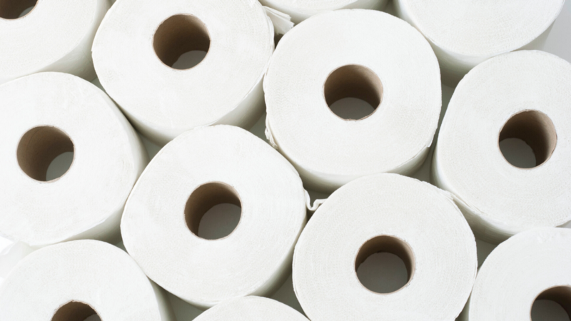 Toilet Paper Zoom Background