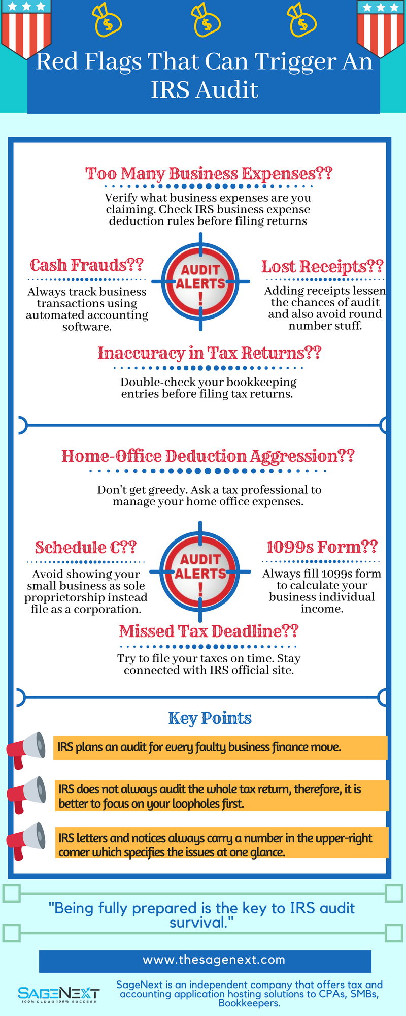 Red Flags That Can Trigger An IRS Audit!![Infographic]