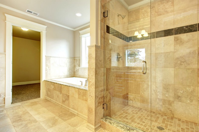 River City Frameless Shower Door Install Austin River City