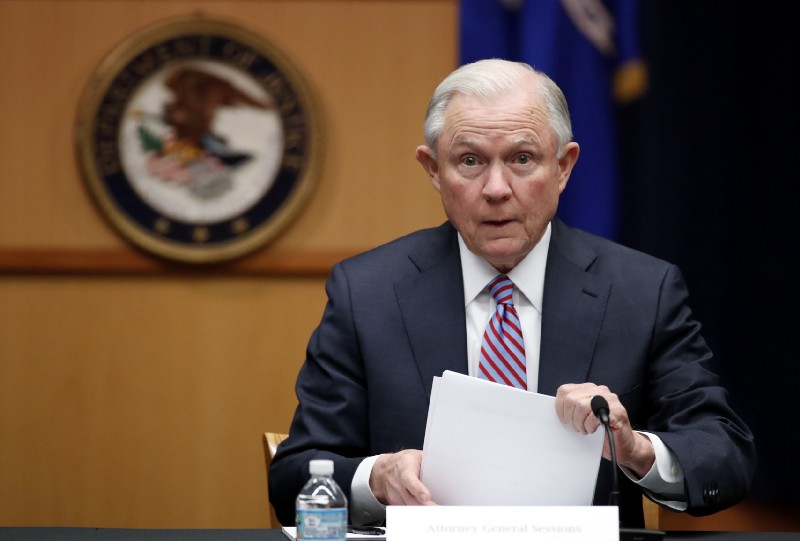 Jeff Sessions hired a lawyer to represent him during the Russia probe