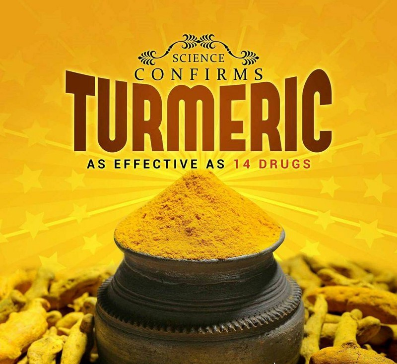 Science Confirms That Turmeric As Effective As 14 Drugs