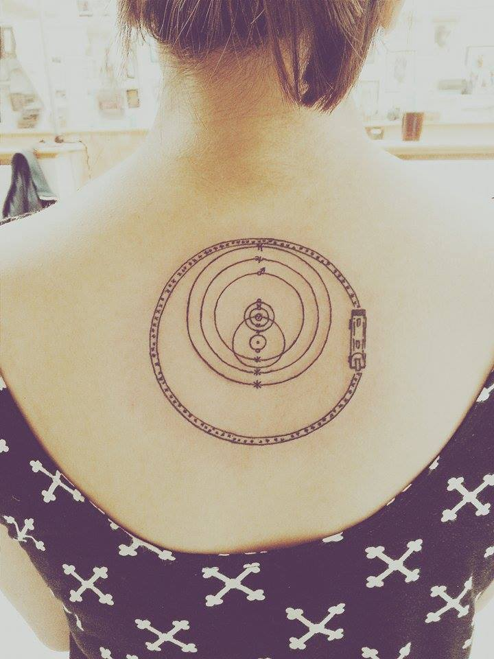 voyager 1 plaque tattoo - photo #31