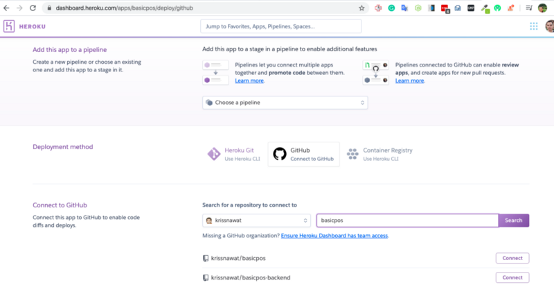 Set up auto-deploy from Github.