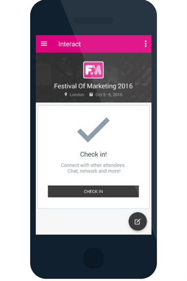 Festival of Marketing event apps