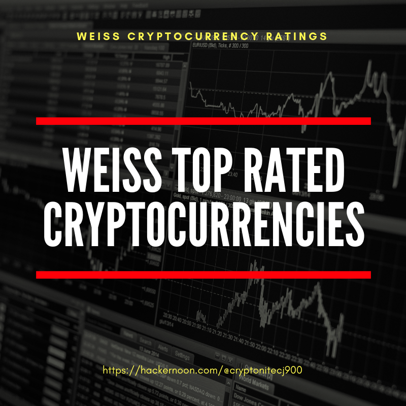 "10 ""Best"" Cryptocurrencies according to Weiss Investment Ratings - By"