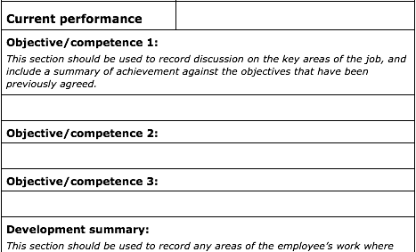 70 fabulous free employee performance review templates uptick