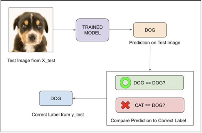 Trained Evaluation Metrics For Classification Model