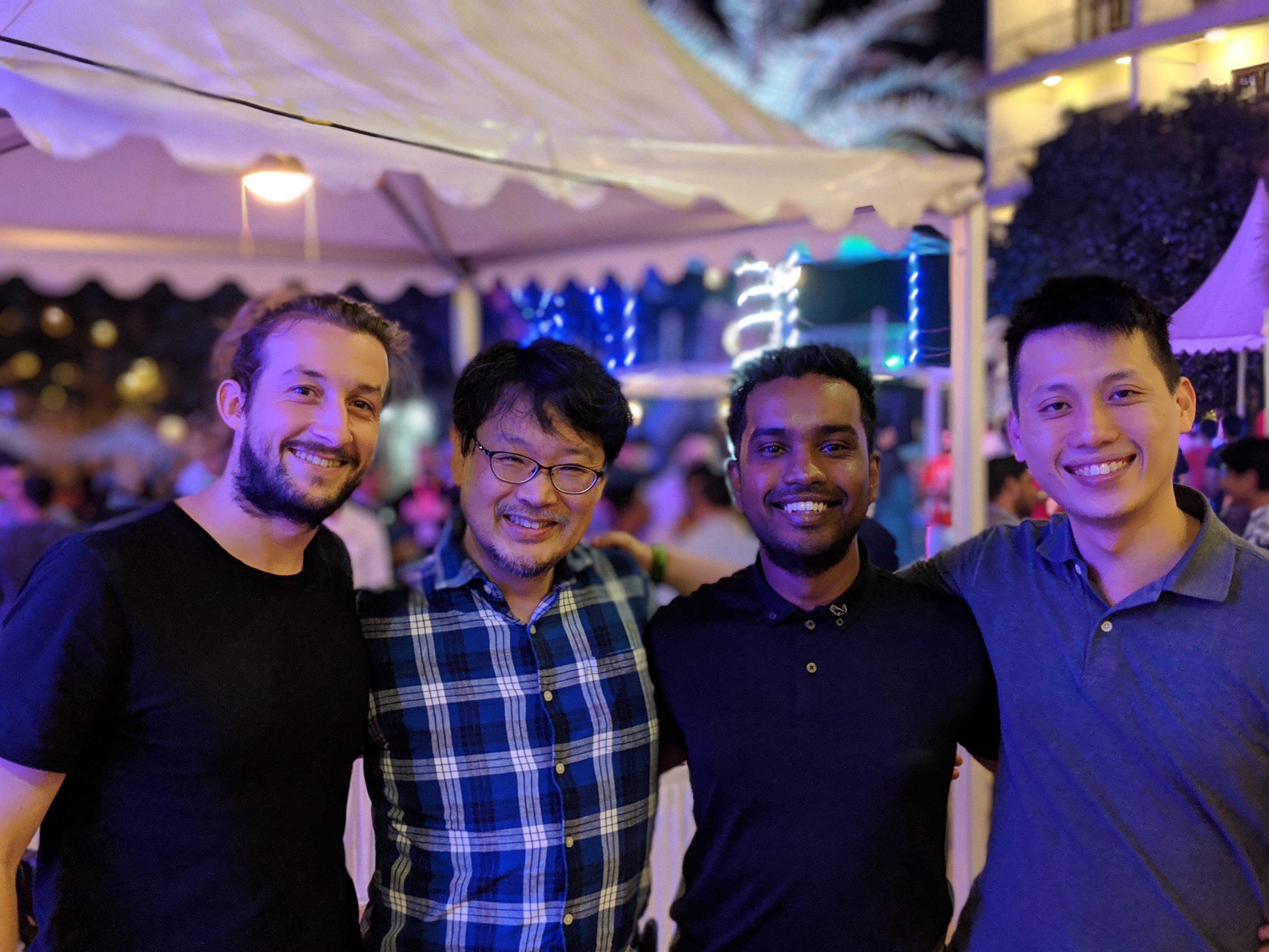 OpsManager team with Matz