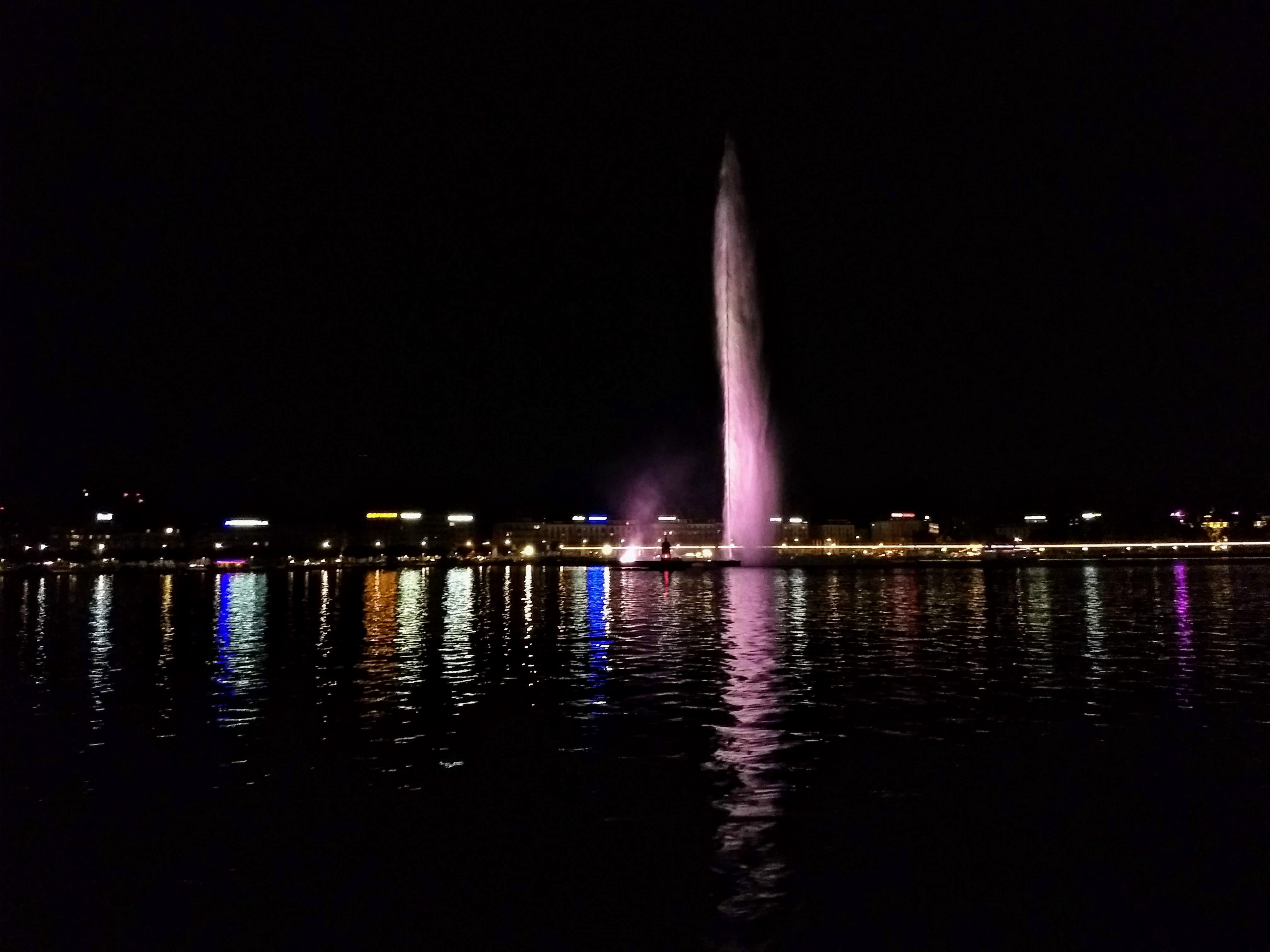 Nightscapes of Geneva