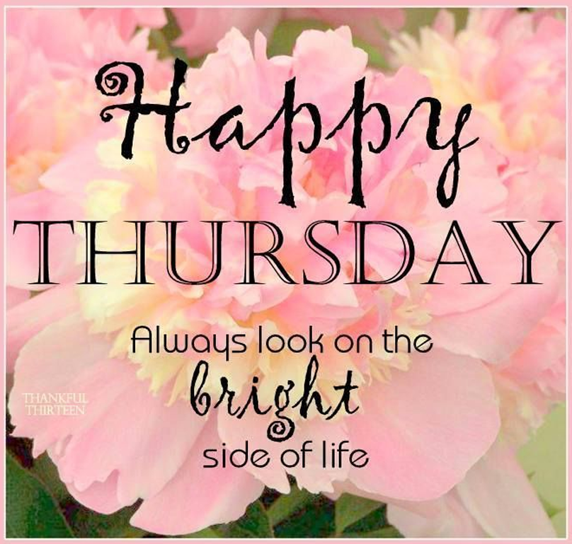 Beautiful Happy Thursday Quotes Erica Gray Medium