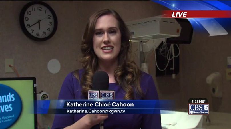 Katherine Chlo Cahoon Is A News Anchor For Cheyenne Wyomings CBS
