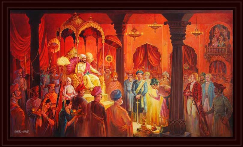 Indian monarchs in the 1700s still lived a reasonably close approximation of Kushan court life
