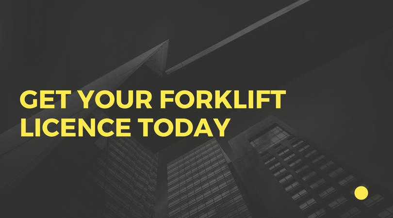 Get Your Forklift Licence Today Training Certification Australia