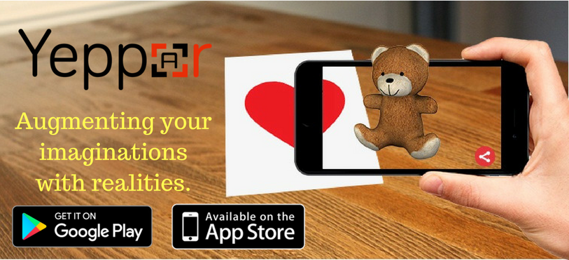 Love in the air augmented reality greeting cards augmented augmented reality greeting cards m4hsunfo