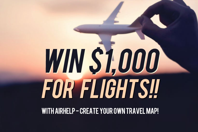 AirHelp Create Your Travel Map And Win Alex Curylo Medium - Create your own travel map
