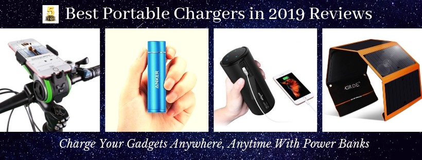 Best Portable Chargers and Power Bank for iPhone Reviews