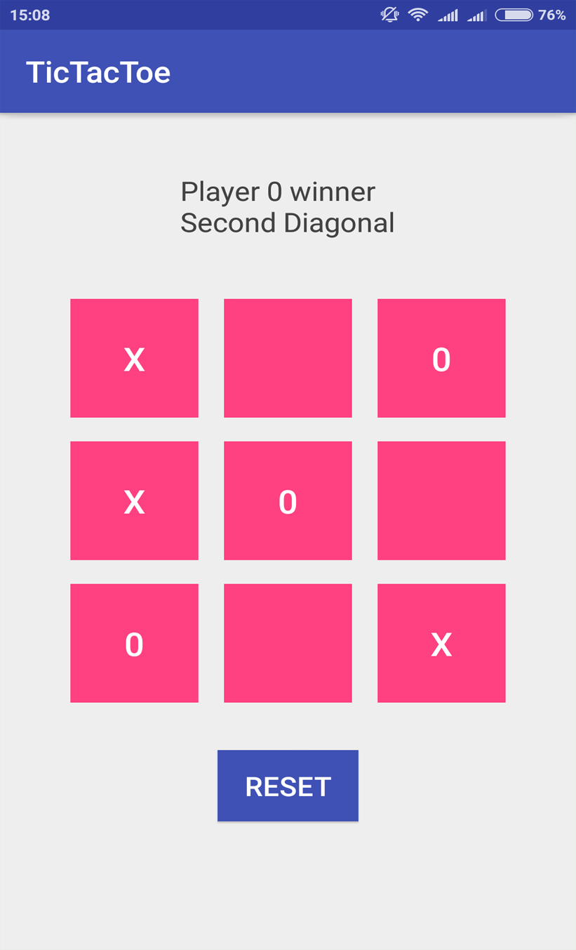 Tic Tac Toe Tablelayout Android App Androidmonk Wiselteach Medium