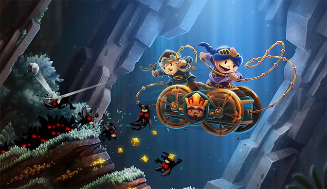 Chariot Takes Co-op Gameplay Into the Deep
