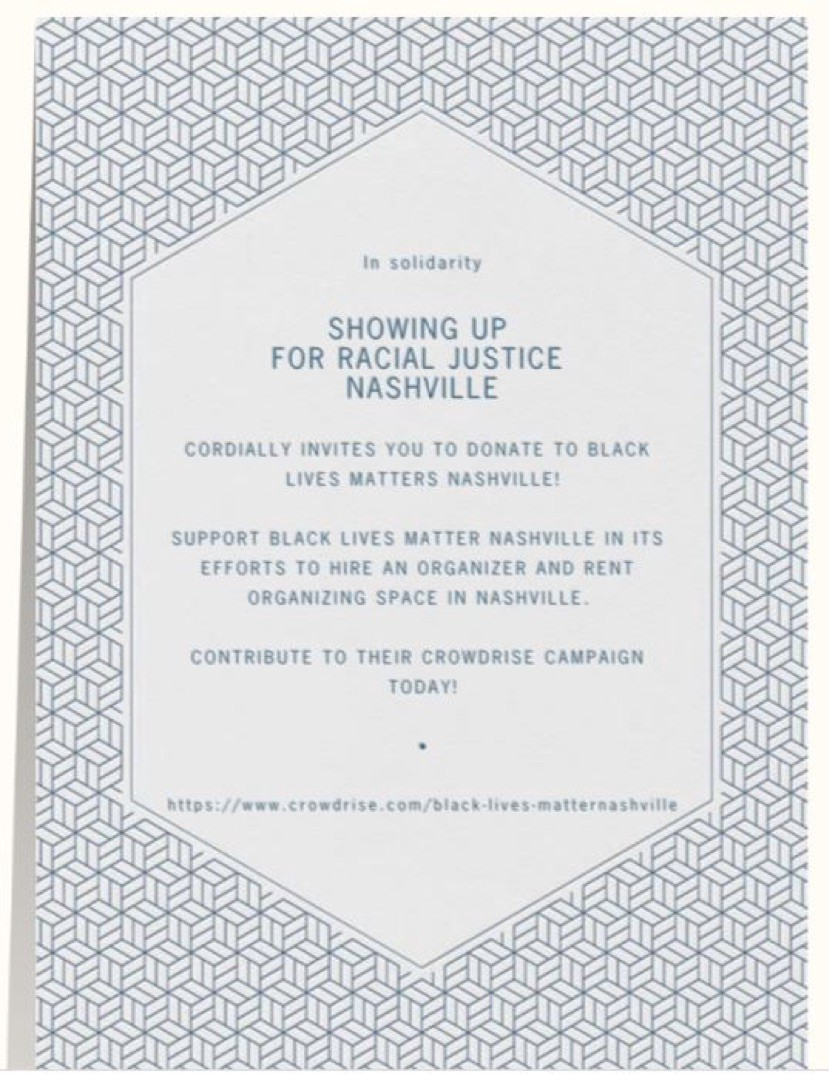 Jason isbell turn your lyrics into action surj nashville medium image description a paperless post invitation with a blue and white cubic design with the following text on a white hexagon in solidarity showing up for stopboris Images