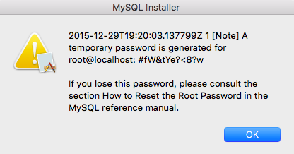 This is okay, but copy and paste the password to have for future reference.