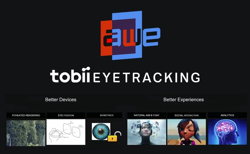 Eye Tracking Benefits for XR Presented in AWE