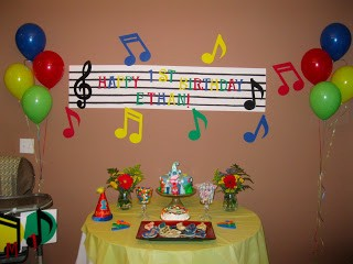 Music Themed Birthday Party Discount Party Supplies Medium