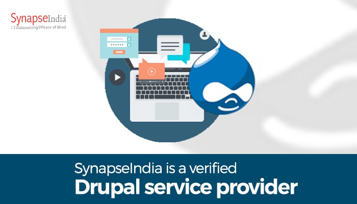 Drupal development by SynapseIndia - Get secure & robust