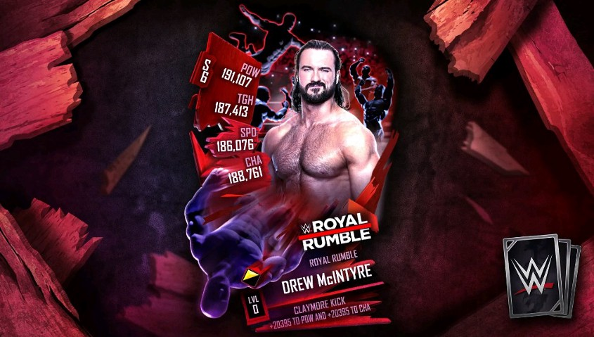 Royal Rumble category now available in WWE SuperCard