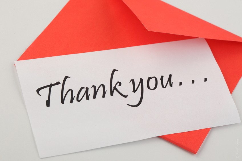 The Joy of Thank You Note Writing – Chair & Pen: Musings on Writing ...