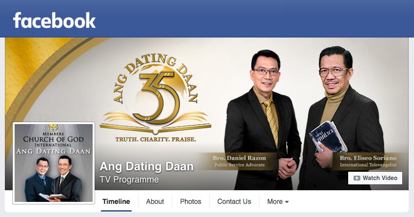 Official website of ang dating daan
