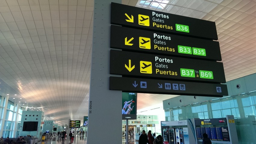 El-Prat airport in Barcelona, Spain, on Feb. 26, 2014.
