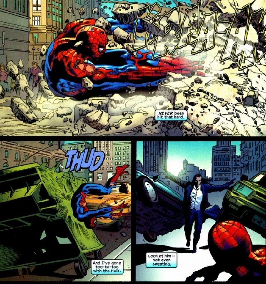 does spider man have superhuman healing abilities like wolverine or