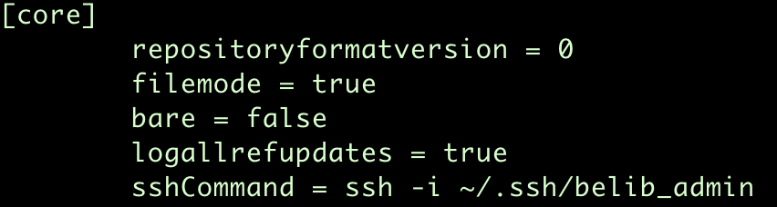 Use different SSH keys for different Git repositories